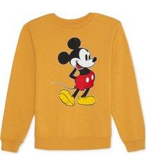 disney juniors' mickey mouse-graphic sweatshirt