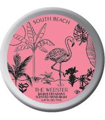 x the webster south beach scented hand balm
