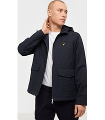 lyle & scott double pocket jacket jackor dark navy