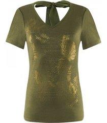 airfield - sh-244 shirt 1/4 kaki goud