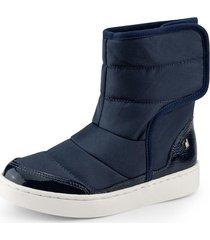 botas urban boots piel de peluche azul bibi