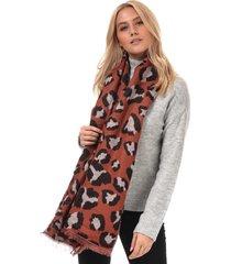 womens novie leopard print scarf
