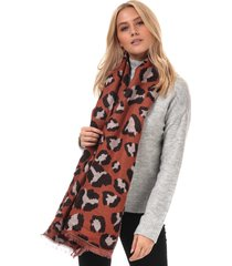 womens novie leopard print scarf