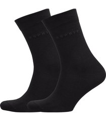 basic easy so2p underwear socks regular socks svart esprit socks