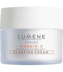 overnight bright vitamin c sleeping cream 50ml