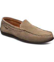 plain driving loafer sde loafers låga skor brun marstrand