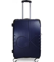 maleta islander azul 24 calvin klein