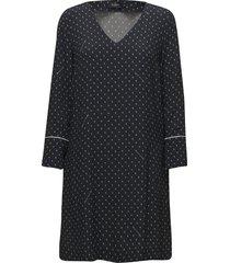 eve printed dress kort klänning blå morris lady