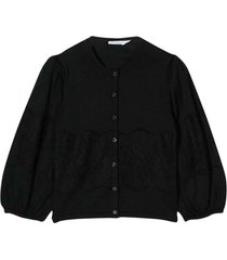 dolce & gabbana black cardigan