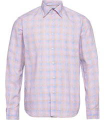 contemporary fit casual lightweight twill shirt overhemd casual roze eton