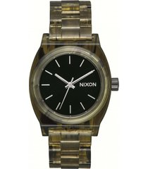 reloj medium time teller acetato nixon