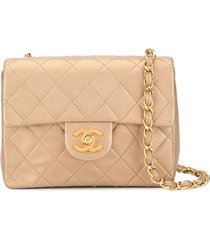 chanel pre-owned 1991-1994 cc logos single chain shoulder bag -