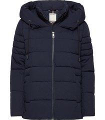 jackets outdoor woven fodrad jacka blå esprit casual