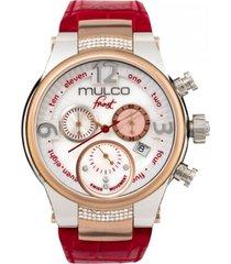 reloj frost lady rojo mulco