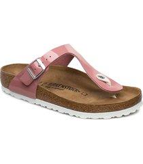 gizeh shoes summer shoes flat sandals rosa birkenstock