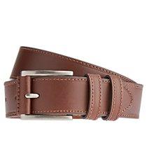 jos. a. bank leather wrap buckle double loop belt