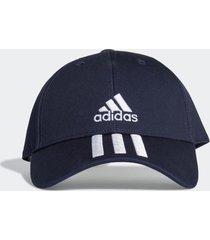 bonã© adidas bonã© baseball sarja 3-stripes () azul - azul - dafiti