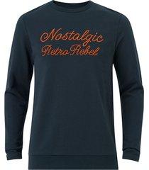 sweatshirt jprcato bla. sweat crew neck