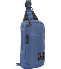 mochila azul cat nata crossover