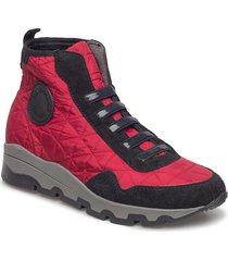 ankle boots höga sneakers röd ilse jacobsen