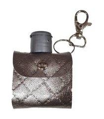 bolsinha premium porta álcool gel capa chaveiro frasco de álcool em gel 40ml luxo