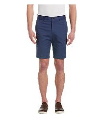 1905 collection tailored fit flat front twill shorts by jos. a. bank
