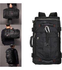 uomo zaino tessuto in oxford a monospalla nastro di stile casual e viaggio multifunzionale laptop bag