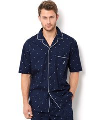 nautica men's signature pajama shirt