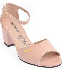calzado dama ejecutivo tacon 5421004nude