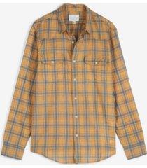 lucky brand men's poplin humboldt workwear long sleeve shirt