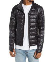 men's canada goose black label hybridge lite packable 800 fill power down jacket, size xx-large - black