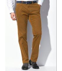 regular fit-broek model everest in flatfrontmodel van brax feel good geel