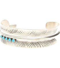 jessie western feather stone bracelet