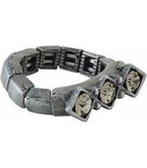 anel armazem rr bijoux 3 cristais regulável