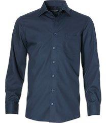 casa moda overhemd - regular fit - dblauw