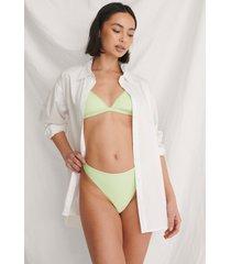 curated styles basic återvunnen bikinitrosa - green