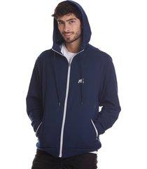 buzo hoodie goco-azul oscuro