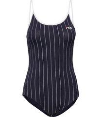 women saga striped body t-shirts & tops bodies svart fila