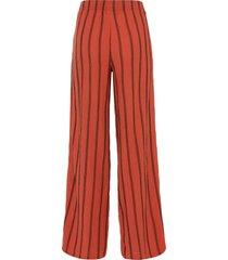 jersey broek met split
