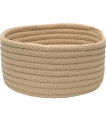 colonial mills storage basics braided bin