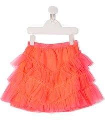billieblush glitter tulle skirt - pink