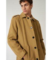 saco camel prototype gaban tie coat