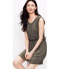 loft lou & grey signature softblend drawstring tank dress