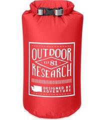 saco estanco retro dry 5l rojo outdoor research