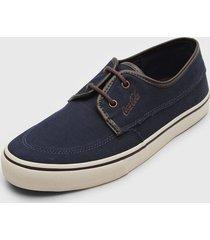 sapatênis coca cola shoes conforto azul-marinho