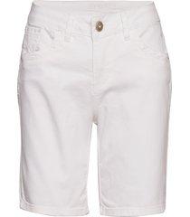 vita capri twill short - regular fi bermudashorts shorts vit cream