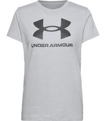 live sportstyle graphic ssc t-shirts & tops short-sleeved grå under armour