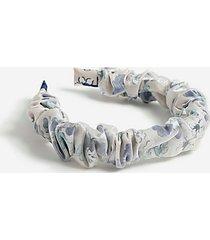 *organza headband - cream