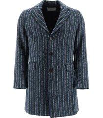 etro striped coat