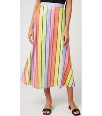 olivia rubin women's penelope skirt - resort stripe - us 6/uk 10